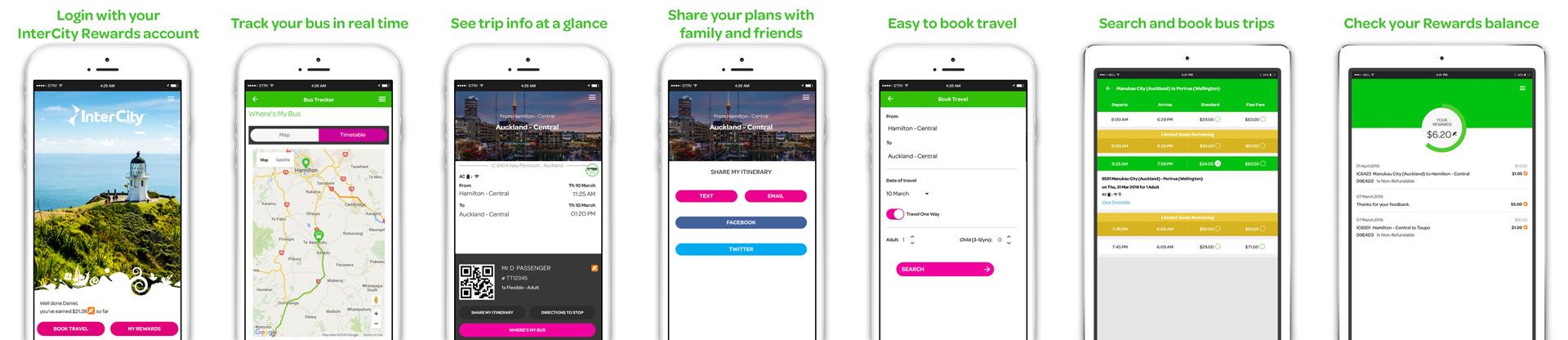 MobileApp Screenshots