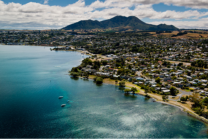 Lake Taupo in the Central North Island is picture-postcard pretty – it's also full of action-packed activities like bungy jumping, jet boating, fishing, skiing and hiking.